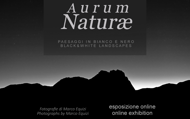 Marco Equizi fotografia locandina aurum naturae